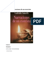 Narraciones de Un Exorcista - Gabriele Amorth