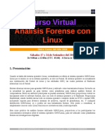 Curso Analisis Forense Linux