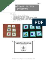 Set de Tarjetas Con Rimas (Imágenes)