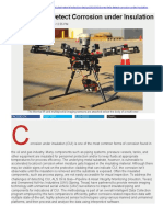 Drones Help Detect Corrosion Under Insulation