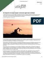 Os impactos da especulação com terras agrícolas no Brasil __ Le Monde Diplomatique Brasil __