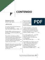 Revista Latinoamericana de Derechos Humanos , 2014