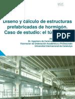 DISEÑO Y CÁLCULO DE ESTRUCTURAS PREFABRICADAS DE HORMIGÓN.  CASO DE ESTUDIO  EL TÚNEL FALSO