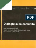 """Danilo Dolci, """"La comunità luogo di conoscenza"""""""