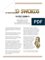 Hired Swords Playtest v20 Rules
