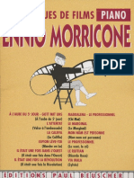 Ennio Morricone - [Book] 12 Musiques de Films