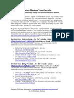 Checklist Clarinete Embocadura e Respiração