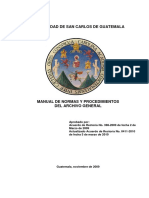 Manual Archivo General Usac