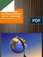Pengembangan Dan Pemanfaatan Gas Di Indonesia