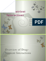Intro of Drug-Nutrient Interactions