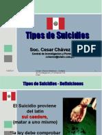 tipos de suicidios