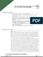 Understanding Buyer Behavior