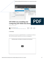 SAP HANA Live_ Installing and Configuring SAP HANA View Browser