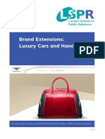 Brand Extension - Bantley