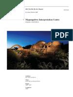 mapungubwe interpretation centre case study