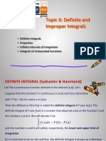 Topic 5 Riemann Integrals