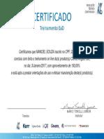 Certificado Contra Angulo c500