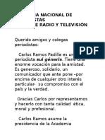 Academia Nacional de Periodistas