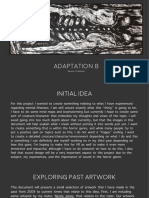 Adaptation B Initial Ideas