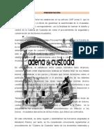 Cadena Custodia