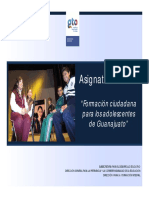 Programa Formación Ciudadana