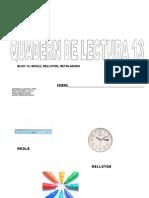 Quadern de Lectura Escola13