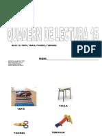 Quadern de Lectura Escola15
