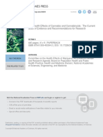 Therapeutic Effects of Cannabis and Cannabinoids