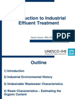 Introduction to Industrial Effluent Treatment by Hector Garcia