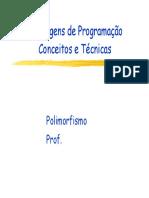 Linguagens de Programação SlidesCap7 2010 2