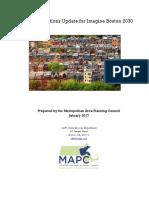 MAPC Imagine Boston Housing Projections Update
