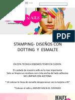 Stamping- Diseños Con Dotting y Esmalte