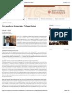 Entrevista a Philippe Dubois - Universidad Andina Simón Bolívar