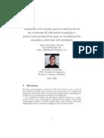 Aprendizaje 2.0 y sus proyecciones semanticas 3.0