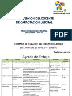 Capacitacion Laboral en El c.a.m.