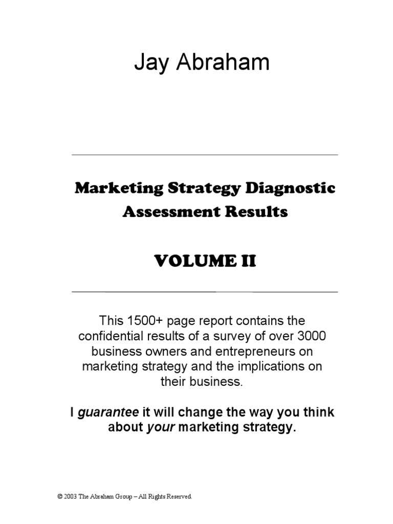 Ebookrketing strategy results vol 2 by jay abrahampdf ebookrketing strategy results vol 2 by jay abrahampdf microsoft strategic management fandeluxe Gallery