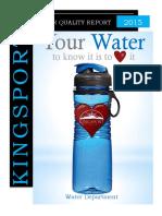 Water Report 2015