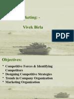 Strategic Marketing - Vivek Birla
