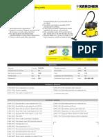 Aspiratore solidi-liquidi Karcher NT 35-1 Eco