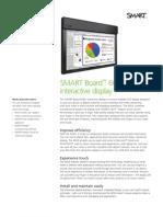 Factsheet SMART Board interactive display 6052i ENG