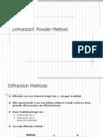 04_Powder Diffraction, Powder Method (Difração de Pó)