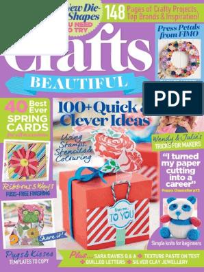 Crafts Beautiful 2017 02   Debit Card   Subscription