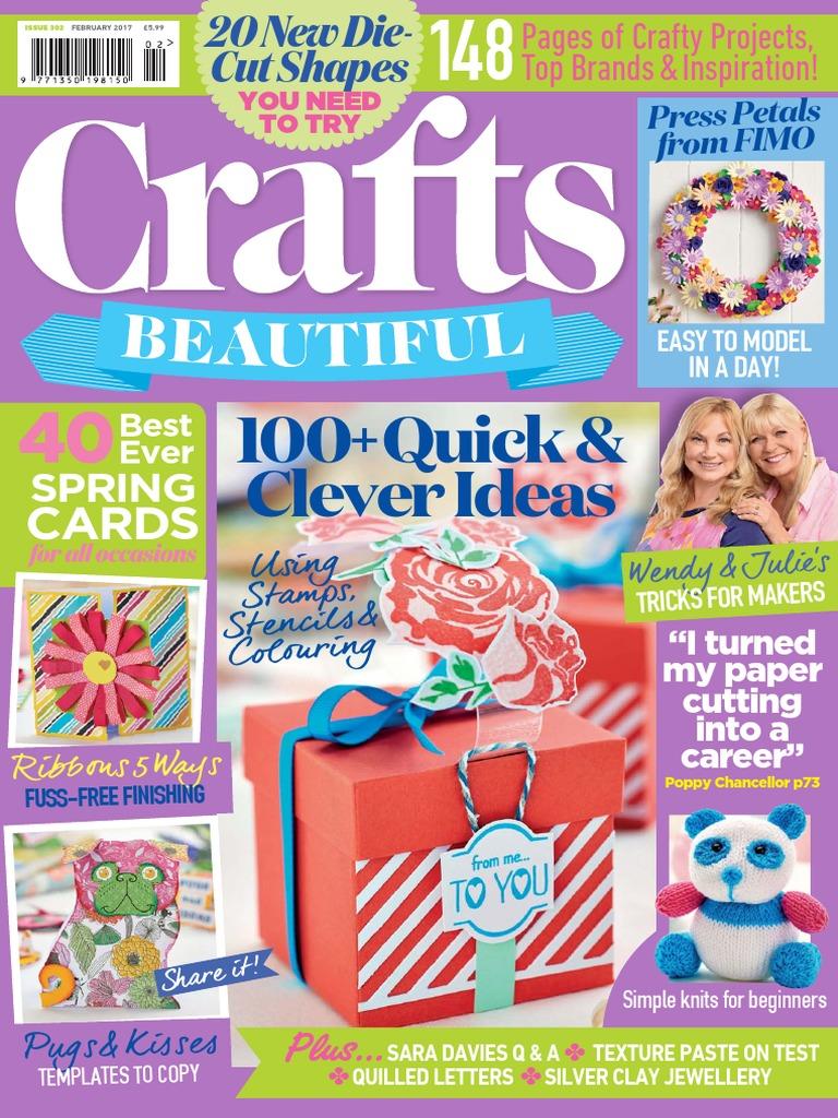 Crafts Beautiful 2017 02 | Debit Card | Subscription Business Model