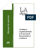 02 Gestiunea Organizationala si de Personal