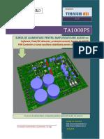 TA1000PS - Sursa de alimentare cu softstart si protectii pentru amplificatoare audio.pdf