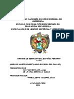 Seminario Español peruano