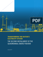 Transforming the Nation's Electricity System-The Second Installment of the Quadrennial Energy Review-- Full Report
