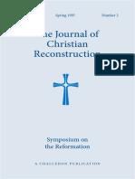 JCR Vol. 14 No. 2 Symposiym on the Reformation