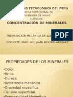 Preparación Mecánica de Los Minerales