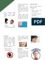 Leaflet Laringitis